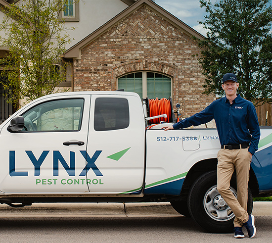 reliable and friendly pest control technician